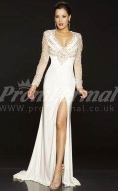 Black Mermaid V-neck Velvet Chiffon Floor-length With Sweep Train Prom Dresses(PRJT04-0111) - PromFormal.co.uk