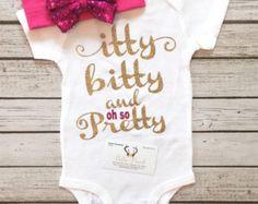 Baby Girl Bodysuit Im Sassy Like My Mommy Bodysuit by BellaPiccoli
