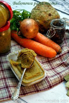 Kulinarne przygody Gatity: Bulionowa pasta mięsna, czyli domowa kostka rosołowa