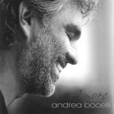 Andrea Bocelli - Black and white photo