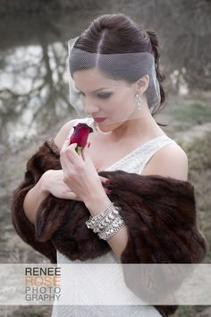 Bride Wedding Vintage Glamour