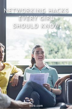 Networking advice for 20-somethings. www.levo.com