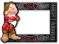 Disney Frames   home disney gifts disney picture frames disney frame grumpy born ...love love this !!!