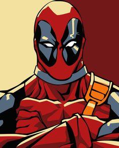 Deadpool Pop Art - Better by iamherecozidraw on DeviantArt Deadpool Images, Deadpool Pop, Spiderman Pop, Superhero Pop Art, Comic Book Style, Comic Books Art, Comic Art, Dead Pool, Deadpool Character