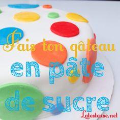 Des trucs pour ceux et celles qui ont toujours hésité à se lancer dans la préparation de gâteaux en pâte à sucre (aka fondant)