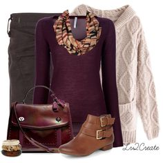 Comfy Cardigan, created by lv2create on Polyvore