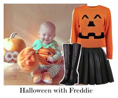 """Halloween with Freddie"" by reasongirl ❤ liked on Polyvore featuring Balmain and Boohoo"
