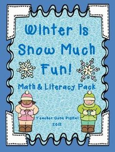 This Low Prep Winter packet includes a variety of math and literacy activities. This packet contains 23 different math and literacy activities: 1. Winter Activity Opinion Writing, 2. How to Build a Snowman Writing, 3. Book Review, 4. Lined snowman paper for writing, 5.