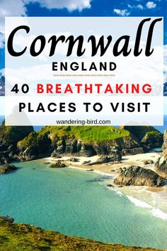 Here are 40 of the BEST places to visit on your motorhome road trip. This road trip itinerary takes in all the best places- St Ives, Newquay and Tintagel Castle. Beautiful Places To Visit, Cool Places To Visit, Places To Go, Cornwall England, Yorkshire England, Yorkshire Dales, Europe Travel Guide, Travel Around Europe, Travel Uk