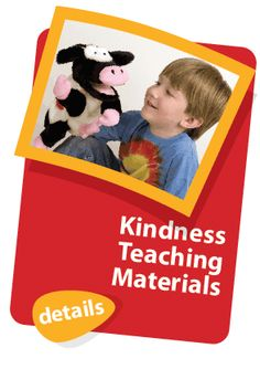 Children (ages 3-8) connect with Moozie and her activities, material and music on kindness.