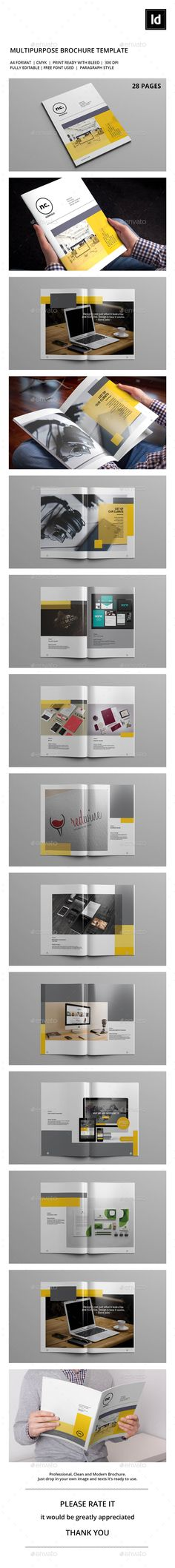 Norcold Portfolio Brochure Template InDesign INDD. Download here: http://graphicriver.net/item/norcold-portfolio-template/15325363?ref=ksioks