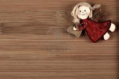 Christmas Angel Decoration On Wood Background Royalty Free Stock Photo, Pictures, Images And Stock Photography. Image 16320654.