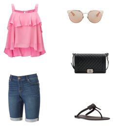 Bez tytułu #94 by wiki208 on Polyvore featuring moda, Miss Selfridge, Juicy Couture, Nine West, Chanel and Christian Dior