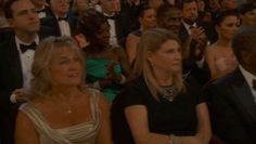 JUST A QUICK audience pan….no big deal….. | Ellen Scared Sandra Bullock And Leonardo DiCaprio At The Oscars  THIS WAS HILARIOUS! XD