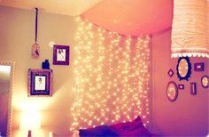 luzes pisca pisca na decoração.4 Luzinhas Pisca Pisca na Decoração