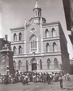 Turoliense: Colegio del Sagrado Corazón de Jesus Notre Dame, Taj Mahal, Past, 3d, How To Plan, Drawings, Building, Image, War
