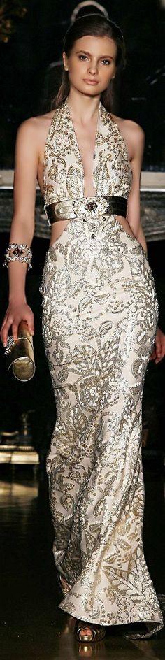 White and Gold Wedding. Gold Bridesmaid Dress. Elegant and Glamorous. ╰☆The FASHION Show☆╮ ****Sofiaz Choice****