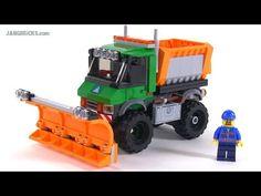 LEGO City 2015 Excavator & Truck review! set 60075 - YouTube