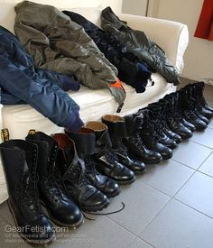 Bad Boy Style, My Style, Skinhead Men, Boy Fashion, Mens Fashion, Combat Boots, Men's Boots, Tall Leather Boots, Cool Boots