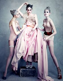 "Influence and Stardoll: New Pics || ♥♥♥ Daphne Groeneveld, Saskia, Candice & Sui for the ""Dior Couture"" book by Patrick Demarchelier"