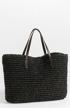 Under One Sky Oversized Straw Tote available at Nordstrom