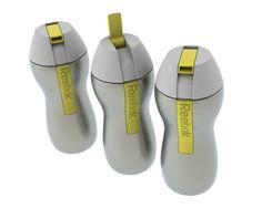 REEBOK | stainless steel bottle series by matthew emeott, via Behance