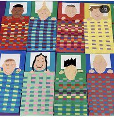 Kindergarten Art Lessons, Art Lessons For Kids, Art Lessons Elementary, Art For Kids, Classroom Art Projects, School Art Projects, Art Classroom, Third Grade Art, Weaving For Kids