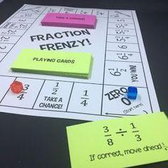 Middle School Math Man: 5th/6th Grade Mega Bundle (PART 2) is Ready! 6th Grade Math Games, Teaching 6th Grade, Sixth Grade Math, Teaching Math, Teaching Fractions, Ninth Grade, Math Fractions, Seventh Grade, Teaching Ideas