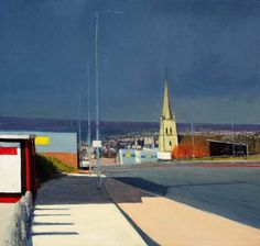 Andrew Gifford Road with Church into Bradford
