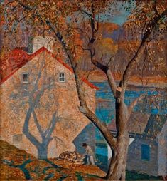 Impressionist Landscape, Landscape Art, Landscape Paintings, Hope Art, American Impressionism, American Artists, Beautiful Paintings, Art Day, Art History