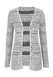 open stitch cardigan with stripes - maurices.com