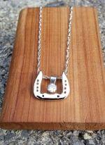 JM696SSSET 3 Piece Scotch Bottom Necklace Set