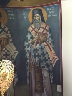 Byzantine Icons, Byzantine Art, Church Interior, Religious Icons, Orthodox Icons, Little Sisters, Mosaic, Saints, Religion