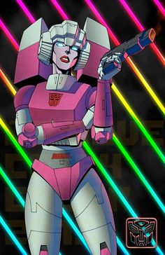 Transformers News: BotCon 2015 Artist Alley - Transformers Propaganda JP Bove Prints, Plus Arcee by Casey Coller/Bove