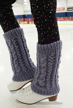 Knitting Patterns Leg Warmers Shine on the Ice leg warmers Knitting pattern by Bonnie Nurnberger Knitting Patterns, Sewing Patterns, Knitting Ideas, Knit Leg Warmers, Boots And Leggings, Knitting Socks, Knit Socks, Knit In The Round, Knitting Accessories