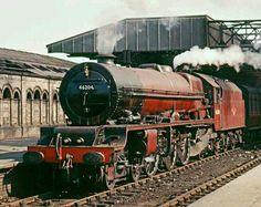 BR (LMS) Princess Royal class  4-6-2  No 46204 'Princess Louise'