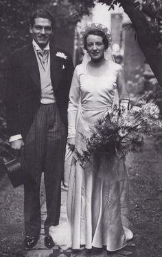 Laurence Olivier and Jill Esmond's wedding, 1930