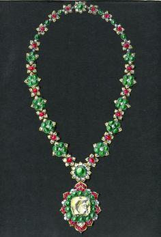 Maharani of Baroda's Former Collection - Van Cleef & Arpels