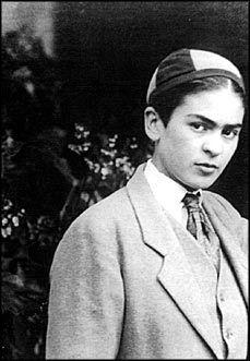 Frida Kahlo at 16