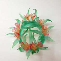 Kirra Galleries - Consequence Crown In Lost Wax Kiln Cast Crystal By Evelyn Dunstan