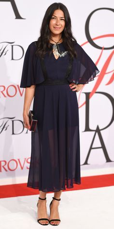 CFDA Awards 2015 Best Red Carpet Looks - Rebecca Minkoff from #InStyle