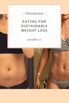 How to eat for sustainable weight loss - lose the weight and keep it off! No yo-yo dieting.