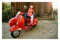 Here was the red Vespa photo shoot...