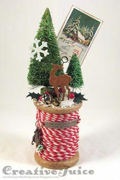 Vintage Christmas Crafts, Christmas Crafts For Gifts, Homemade Christmas Gifts, Christmas Gift Wrapping, Christmas Wood, Diy Christmas Ornaments, Christmas Decorations, Blue Christmas, Christmas Projects