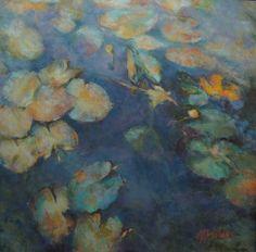 Winter's Water Lilies