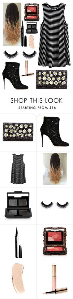 """Daisy Do"" by mary-elizabeth-1998 ❤ liked on Polyvore featuring Dolce&Gabbana, NARS Cosmetics, Marc Jacobs, Anna Sui, Bobbi Brown Cosmetics and By Terry"