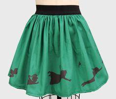 Neverland Inspired Border Full Skirt by GoFollowRabbits on Etsy, $45.99