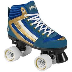 Playlife Rollerskates, Herren, »Groove« » Retro Style ✓ Hoher Tragekomfort ✓ PU - Rollen 58 x 39 mm / 80A ✓ Bei BAUR