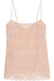 Stella McCartneyEllie Leaping printed stretch-silk crepe de chine camisole