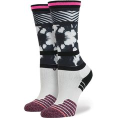 Fit No. 556 The Classic Crew in an all around women's athletic sock with style.SKU: W557A16FIT-BLK